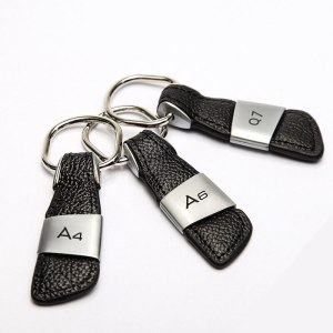 Car Keychain Key Chain Key Ring For Audi A3 A4 B6 B8 B7 B5 B9 A6 C5 C6 C7 A5 Q5 Q7 8P 8V 8L TT 80 100 Q3 A7 S3 S4 S5 S6 S line