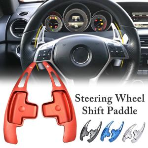 Car Steering Wheel Shift Paddle Extension For Benz W176 W246 W205 W212 W222 C117 Steering Wheel Interior Modification