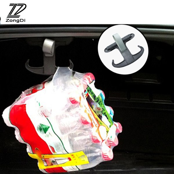 ZD Car Trunk Hook Horns With Damping For Skoda Octavia A7 A5 2 Audi A4 B8 A6 C6 Volkswagen Passat B6 B5 B7 VW CC Golf 5 6 Jetta