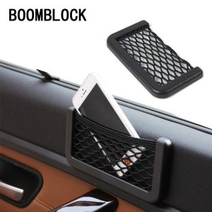1x Car Net Storage Bag box Stickers For Audi A4 B6 B8 VW Passat B5 B7 Skoda Octavia A7 A5 Renault Megane 2 3 Ford Focus mk2 Lada