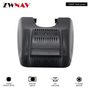 car recorder For Highlander DX 2018 original dedicated Hidden Type Registrator Dash Cam DVR Camera WiFi 1080P