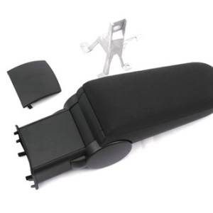 Center Console Armrest (Black Cloth) for Polo 6R