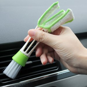 Car Cleaning Double Side Brush For Audi A3 8V A4 B5 B6 B7 B8 A6 C5 A5 TT Q3 Q5 Q7 A1 A2 A7 A8 S3 S4 R8 RS Quattro S line