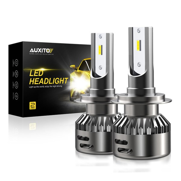 AUXITO H7 H11 H4 LED Canbus Bulb Car Headlight LED Auto Headlamp For Audi A3 A4 B8 B6 A5 C5 C6 A7 A8 Q7 Q5 High Low Beam