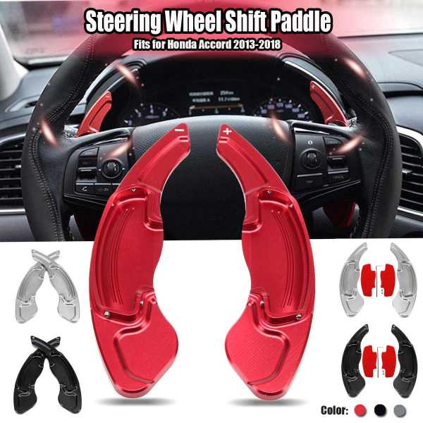 Car Steering Wheel Shift Paddle for Honda for Accord 2013-2018 Extension Shifter Aluminum Alloy Auto Accessories