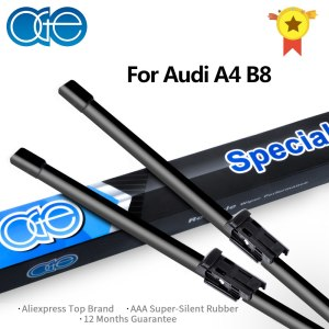 OGE 24''+20'' Wiper Blade For Audi A4 B8 2008 2009 2010 2011 2012 2013 2014 2015 2016 High Quality Rubber Car Accessories