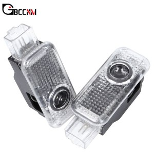 2x LED Car Logo Door Welcome Projector Light For Audi A1 A3 8P A4 B5 B6 B7 B8 A5 A6 C5 C6 C7 A7 A8 Q3 Q5 Q7 TT V8 8V R8 8L 80 90