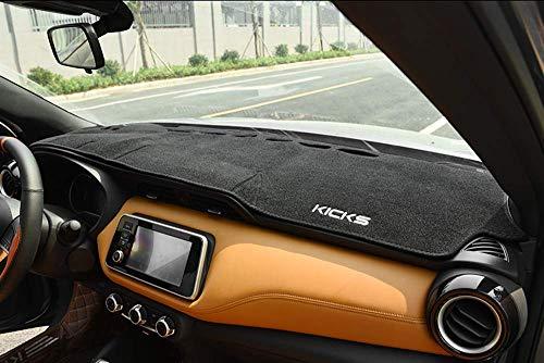 Salusy Dashboard Dash Protector Dash Mat Sun Cover Pad for Nissan Kicks 2018 2019