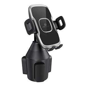 Cup Phone Holder for Car, WizGear Car Cup Holder Phone Mount Adjustable Automobile Cup Holder Smart Phone Cradle Car Mount