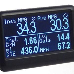 UltraGauge EM Plus Automotive OBD2 Scanner, Code Reader, Gauges & Mileage Calculator - All New v1.4
