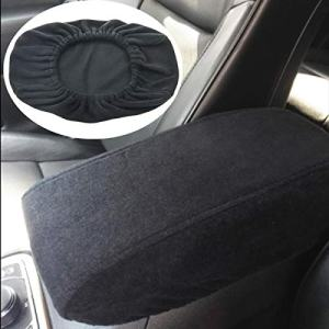 MOEBULB Center Console Lid Armrest Soft Pad Protector Cushion Cover Compatible with 2011-2017 Jeep Grand Cherokee