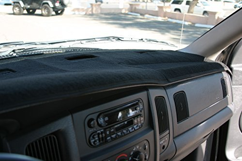 Black Carpet Dashboard Cover- 2002-2005 Dodge Ram Angry Elephant Black Carpet Dashboard Cover- 2002-2005 Dodge Ram 1500, 2003-2005 2500-3500. Custom Fit Dash Cover, Easy Installation.