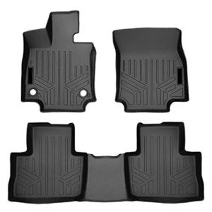 YEE PIN Floor Mats Custom Fit for 2019 XA50 Gasoline Version Left Rudder Dedicated 2 Row Liner Set Black