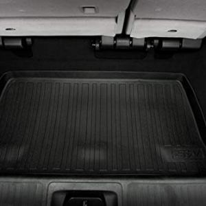 3W Cargo Liner for Honda Odyssey 2018 2019 2020 - All Weather Custom Fit TPE Trunk Tray Mat, Black