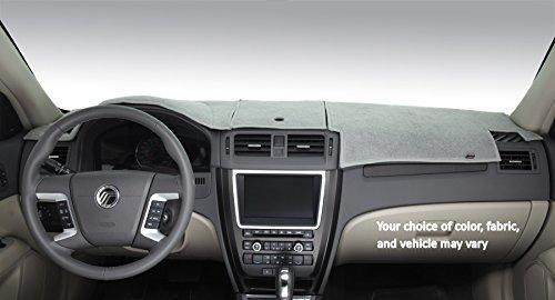 DashMat Original Dashboard Cover Chrysler and Dodge (Premium Carpet, Gray)