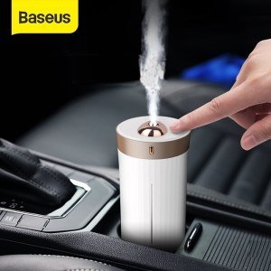 Baseus Car Air Purifier Humidifier For Car Home Desktop Intelligent 420ML Large Capacity Auto Car Air Diffuser Freshener