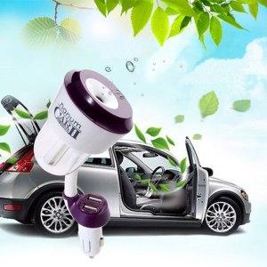 Nanum ii New 12V Car Charger USB Car air freshener II Car Steam Humidifiers with Car Air Purifiers for iphone 6 ipad Samsung