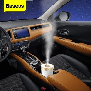 Baseus Car Air Purifier Humidifier For Car Home Desktop Intelligent 450ML Large Capacity Home Auto Air Diffuser Freshener