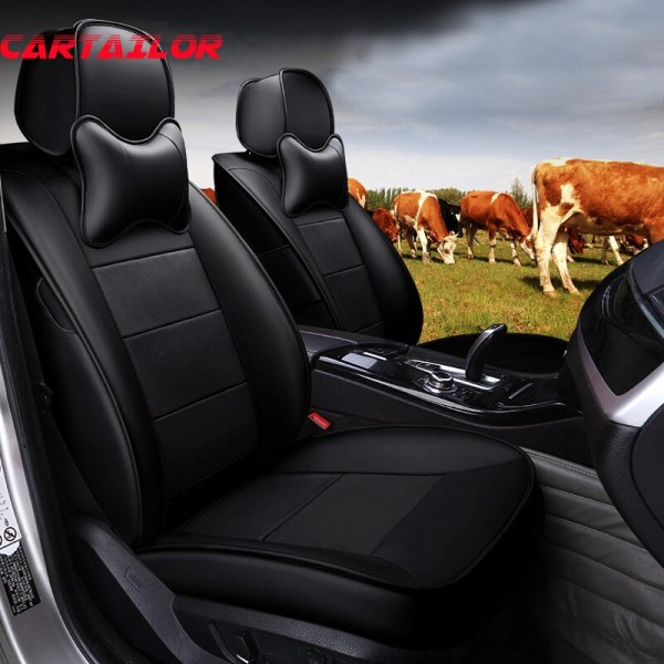 Genuine Leather Car Seat Cover for Mercedes BENZ C