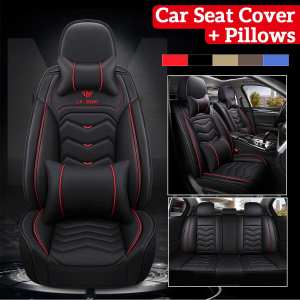 Car Seat Cover Headrest-Pillows Waist-Pillows Seats