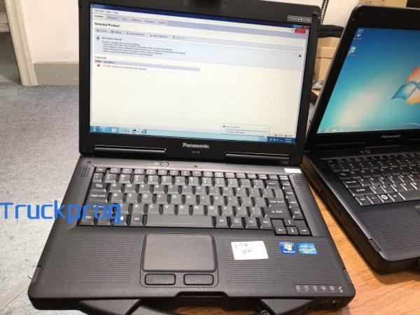 AUTO diagnostic tool Diesel truck car diagnostic laptop Toughbook