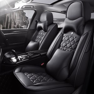 HUMMER H2 H3 Leather Car Seat Covers