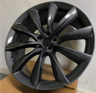 Tesla Model X P85D P100D 22 inch Wheel Rims Turbine Style