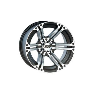 ITP SS ALLOY SS212 Black Wheel with Machined Finish