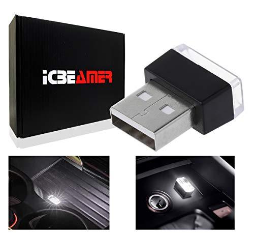ICBEAMER 1pc White Universal USB Interface Plug-in