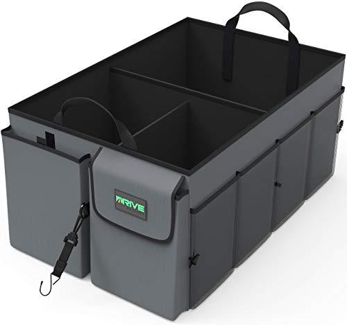 Car Trunk Storage Organizer Adjustable Securing Straps