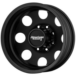"Baja Dually Rear 16x6 8x170 Black Wheel Rim 16"" Inch"