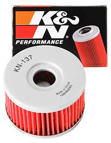 K&N Motorcycle Oil Filter: High Performance