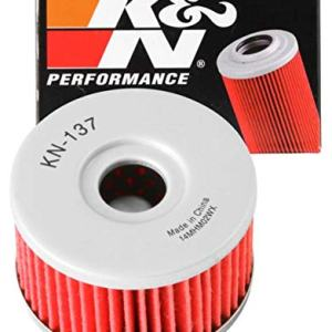 K&N Motorcycle Oil Filter: High Performance