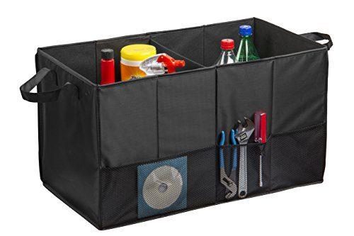 Auto Trunk Organizer, Multipurpose Folding Trunk Storage Organizer
