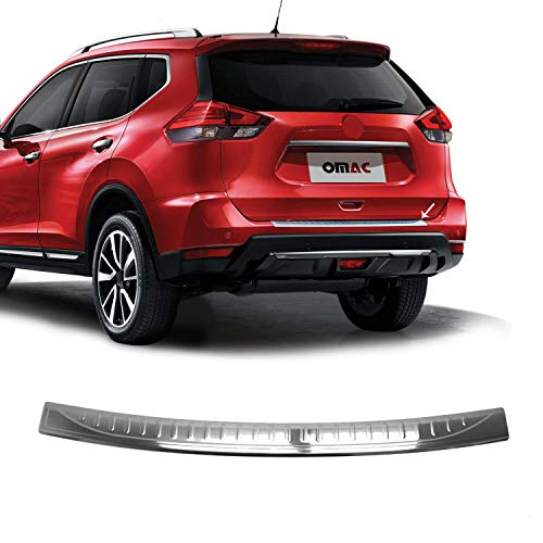 OMAC Fits Nissan Rogue Chrome Rear Bumper
