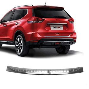 OMAC Fits Nissan Rogue Chrome Rear Bumper