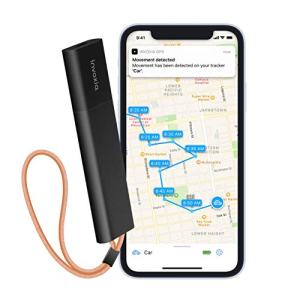 Invoxia Cellular GPS Tracker - for Vehicle, Car, Motorcycle