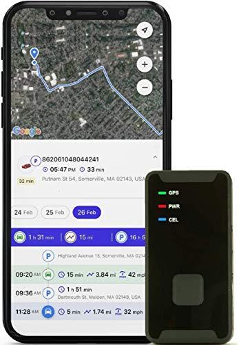 PRIMETRACKING Personal GPS Tracker- Mini, Portable