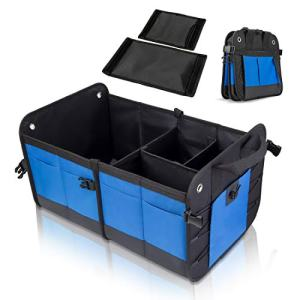 Car Trunk Organizer, ANTEQI Car Storage Organizer