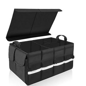 Collapsible Auto Storage for Car SUV Trunk Organizer
