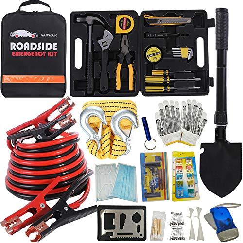 Premium Road Kit Essentials Jumper Cables Set