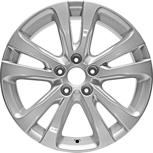Chrysler 200 Silver Aluminum Alloy Wheel Rim 2015-2017