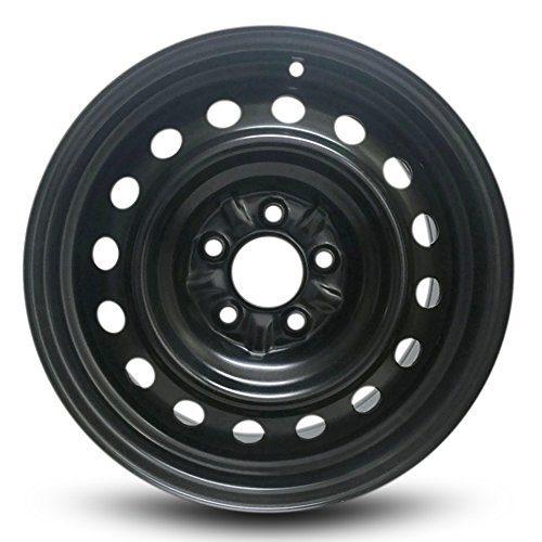 2013-2020 Nissan Leaf 16 Inch 5 Lug Black Steel Rim