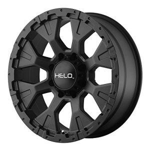 "Wheel with Satin Black Finish 18x9""/6x5.5"""