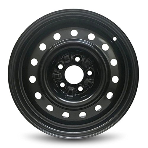 Wheel For 2002-2006 Nissan Altima 16 Inch Black Steel Rim