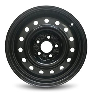 Wheel For 2002-2006 Nissan Altima 16 Inch Black Steel Rim