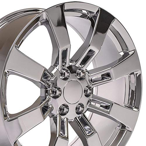 OE Wheels LLC 22 Inch Fits Chevy Silverado Tahoe