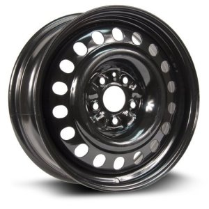 RTX, Steel Rim Wheel, 17X7, 5X114.3 black finish