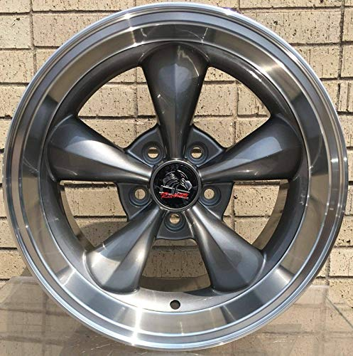 17 Inch Fits Ford Mustang 1994-2004 Bullitt Style FR01 Anthracite