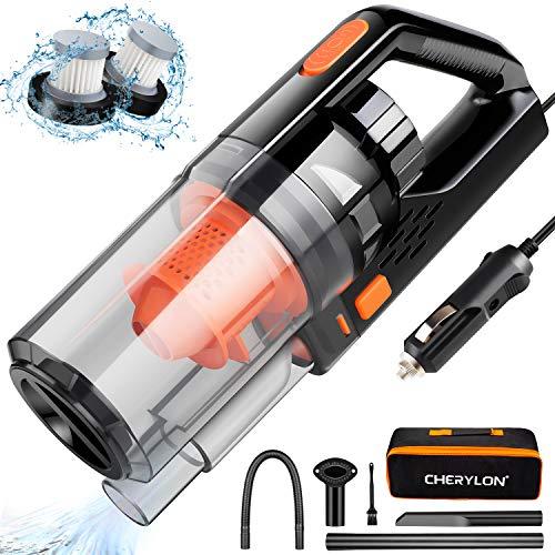 Car Vacuum, CHERYLON Portable Car Vacuum Cleaner High Power